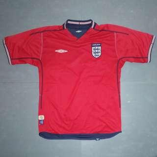 Jersey England Edisi Maret 2004 by Umbro
