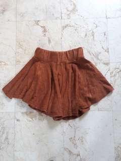 Hotpants coklat