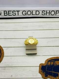 916 gold vintage ring