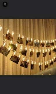 🚚 Fairy lights with clips for polaroid and photos