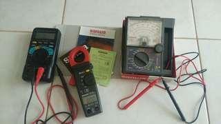 Dijual BU Afometer / Multitester & Tang Ampere