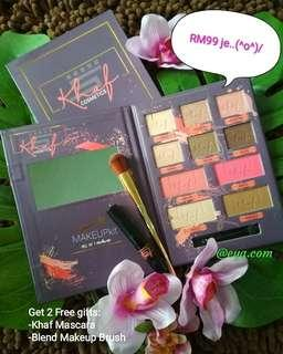 Khaf Cosmetics Makeup Kit 4 in 1