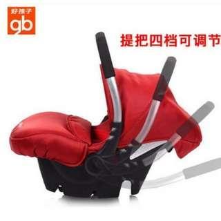 🚚 goodbaby car seat 好孩子婴儿提篮式汽车儿童安全座椅新生儿宝宝汽车用便携车载摇篮
