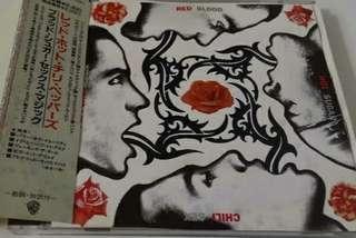 🚚 Red hot chilli pepper cd jap press with obi