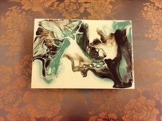 潑墨水彩藝術Luna Box手工收納盒