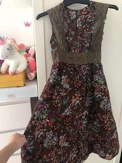 ARCADIA FLOWERY DRESS