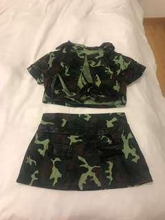🚚 Camo Halloween outfit (Army outfit)