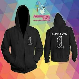 Jaket Zipper Hoodie Wanna One