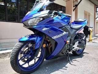 Yamaha R25 2016 Utk Dijual.