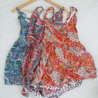 3 Short jumpsuit bali with strap
