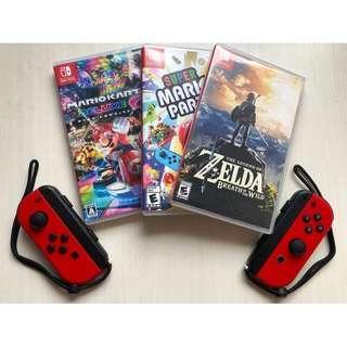 Rental Nintendo Switch