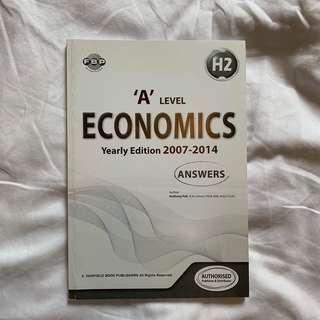 A Level Economics Yearly Edition Answers
