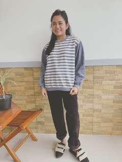 Stripe sweatshirt
