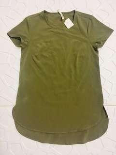 Ladies top army green (S-M)