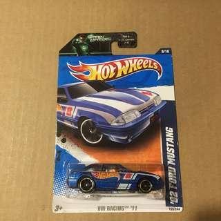 Hot wheels '92 Ford Mustang HW Race Team