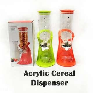 Acrylic Cereal Dispenser