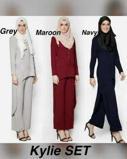 MUSLIMAH COLLECTION (SUIT) KYLIE SET