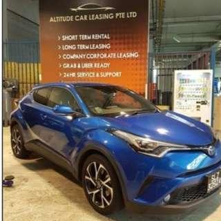 Toyota CHR Hybrid For rent!
