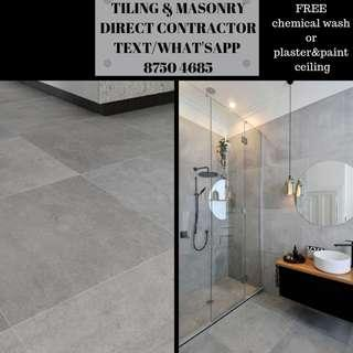 Direct tiling & flooring. HDB licensed. What'sapp us 87504685