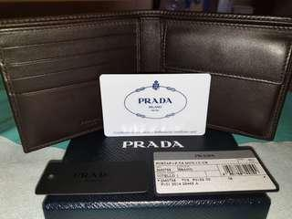 Original Prada Men's wallet