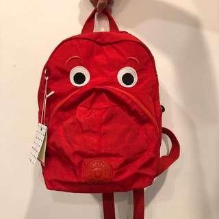 🚚 Kids Kipling backpack (pink/blue/red)
