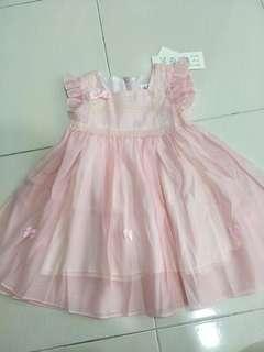 Girl ribbon dress