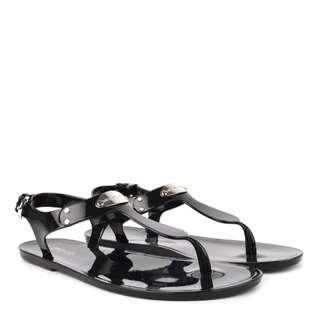 Brand New Michael Kors Plate Jelly Sandals