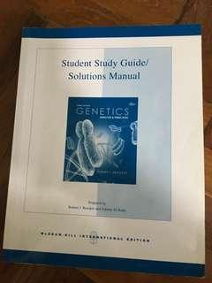 Study guide for genetics (3rd Ed)