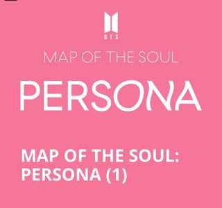 [Direct shipping] BTS Map of the soul : Persona album