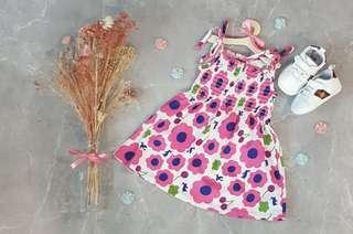 BN Premium Baby Girl Spaghetti Dress