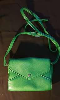 Green Small Sling Bag
