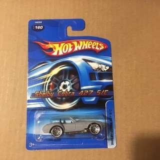 Hot wheels Ford Shelby Cobra 427 S/C Satin Matt Grey