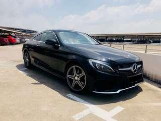 MERCEDES BENZ C200 COUPE AMG LINE A/T