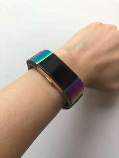 🚚 Fitbit Charge 2 Colorful Milanese Stainless Steel Mesh Straps