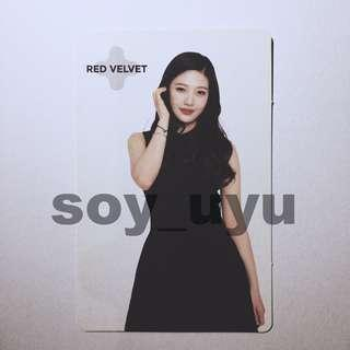 RED VELVET JOY SM COEX Limited Fortune Cookie OFFICIAL Photocard