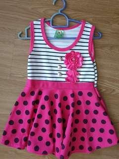 🚚 Baby girl toddler outdoor dresses