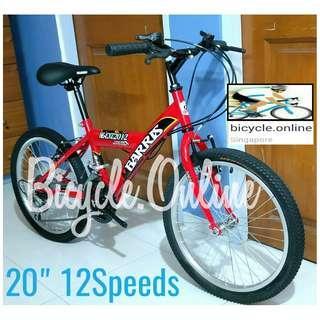 "Kids' MTB / Mountain Bike. 20"" 12Speeds. Option to add water bottle holder ☆ Brand new bicycle"