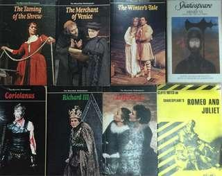 Shakespeare 8本,$20 take all
