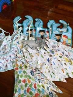 21pcs assorted bibs