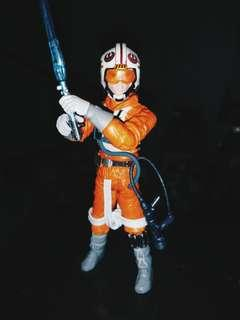 Luke Skywalker Xwing Pilot Outfit(Hoth) ESB Star Wars 3.75 Inch Figurine