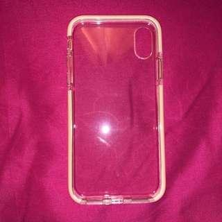 Case iPhone X - SOFT PINK - JELLY CASE