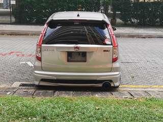 Honda stream facelift tail lamp