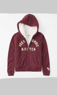 Abercrombie and Fitch hoodie jacket 外套