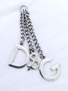 D&G charm keychain