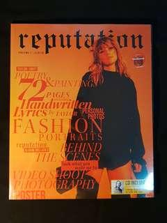 Taylor Swift Reputation Volume 1