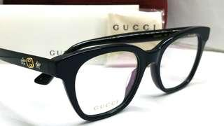 🚚 Authentic Gucci spectacles eyewear GG0349O Made in Italy Dark Blue
