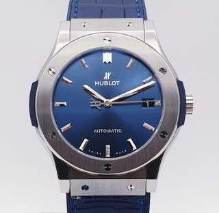 Hublot Classic Fusion Blue Men's 45 mm in Titanium