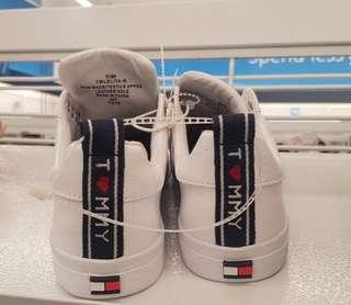 Tommy Hilfiger White Rubber Shoes