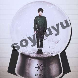 EXO XIUMIN MIRACLE IN DECEMBER OFFICIAL PHOTOCARD