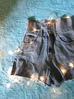 jeans short high waist hotpants